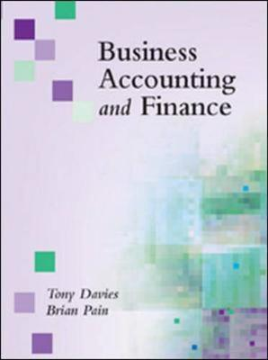 Business Accounting and Finance (Hardback)