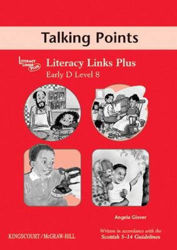 Early D (Level 8) Talking Points, Teacher's Notes for Literacy Links Plus - B04 (Paperback)