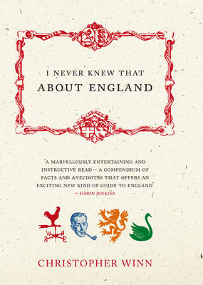 I Never Knew That About England (Hardback)