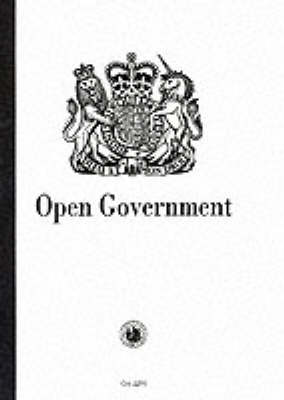 Open Government - Cm. 2290 (Paperback)