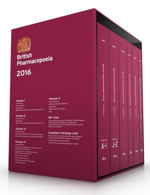 Cover British Pharmacopoeia 2016