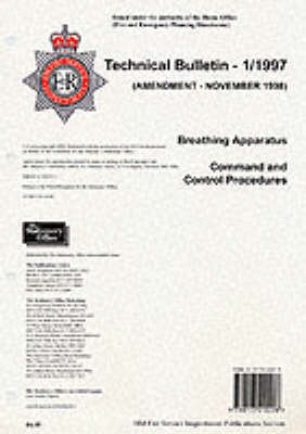 Breathing Apparatus 1998 Amendment: Home Office Technical Bulletin (Paperback)