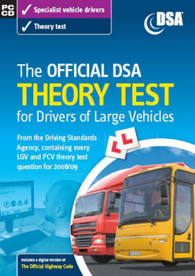 The Official DSA Theory Test for Drivers of Large Vehicles 2008/09 (Mixed media product)