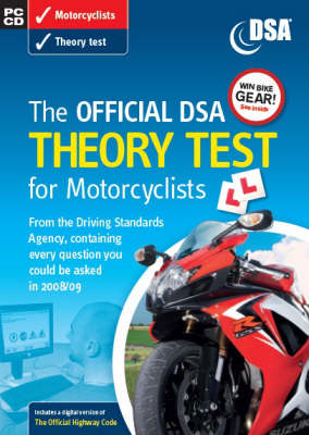 The Official DSA Theory Test for Motorcyclists 2008/09: Valid for Tests Taken from 1 September 2008 (CD-ROM)