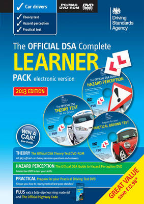 The Official DSA Complete Learner Driver Pack 2013 (Paperback)