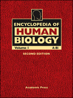 Cover Encyclopedia of Human Biology: v. 1-9