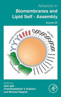 Cover Advances in Biomembranes and Lipid Self-Assembly - Advances in Biomembranes and Lipid Self-Assembly 24
