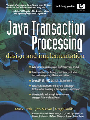 Transactions and Java (Paperback)