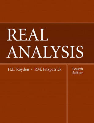 Real Analysis (Hardback)