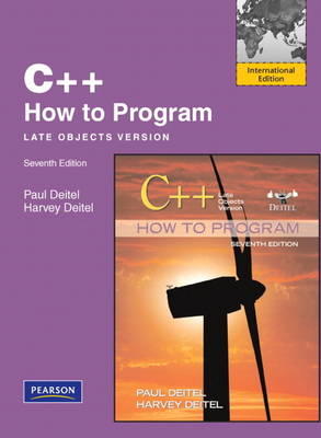 C++ How to Program: Late Objects Version (Paperback)