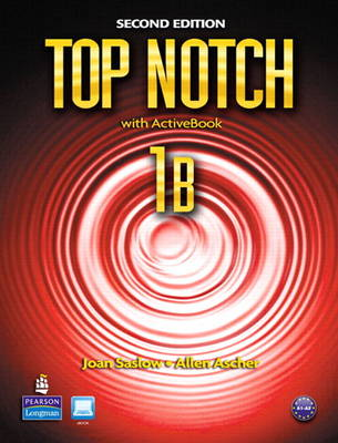 Top Notch 1B Split: Student Book with Activebook and Workbook and MyEnglishLab (Mixed media product)