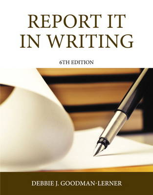 Report it in Writing (Paperback)