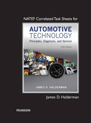 Natef Correlated Task Sheets for Automotive Technology (Paperback)