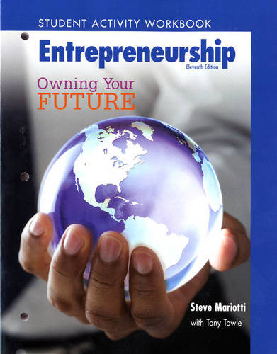 Student Activity Workbook for Entrepreneurship: Owning Your Future (High School Workbook) (Paperback)