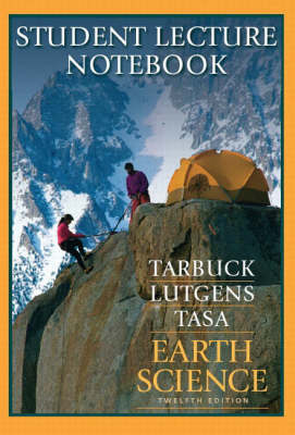 Earth Science: Student Lecture Notebook (Paperback)