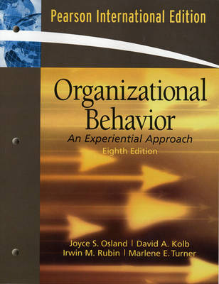 Organizational Behavior: An Experiential Approach (Paperback)