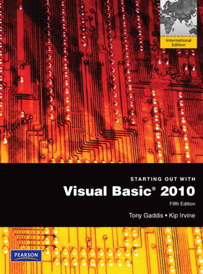 Starting Out with Visual Basic 2010: International Version (Mixed media product)