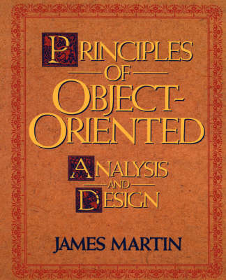 Principles of Object-oriented Analysis and Design (Paperback)