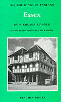 Essex - The Buildings of England (Hardback)