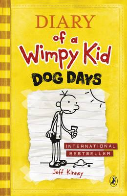 Dog Days - Diary of a Wimpy Kid Book 4 (Paperback)