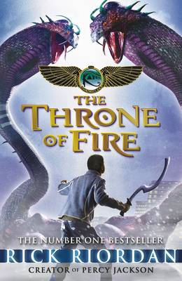 The Throne of Fire - The Kane Chronicles 2 (Paperback)