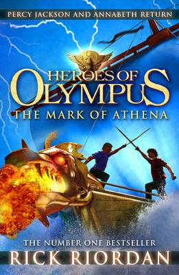 The Mark of Athena - Heroes of Olympus Book 3 (Paperback)