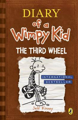 The Third Wheel - Diary of a Wimpy Kid Book 7 (Paperback)