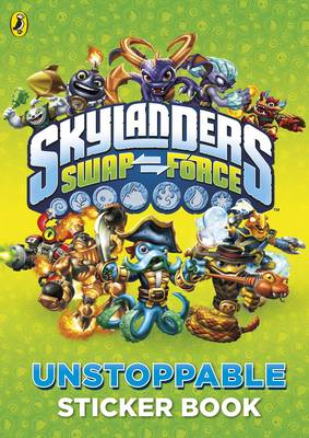 Skylanders Swap Force: Unstoppable Sticker Activity Book - Skylanders (Paperback)