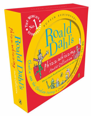 Roald Dahl's Phizz-whizzing Audio Collection (CD-Audio)