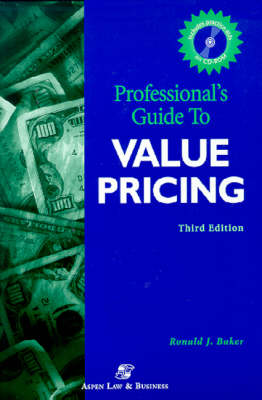 Professionals' Guide to Value Pricing 2001 (Mixed media product)
