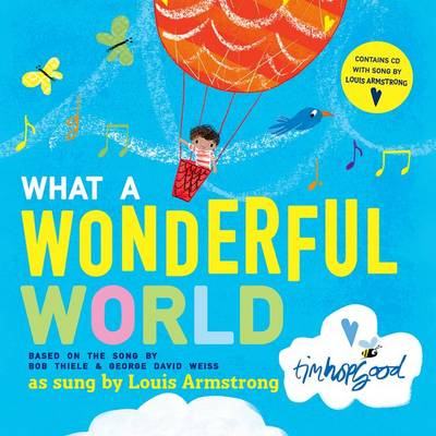 What a Wonderful World Book and CD (Mixed media product)