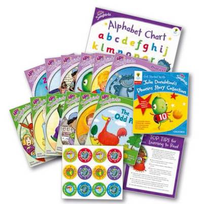 Oxford Reading Tree Songbirds: Levels 1+ and 2: Get Started with Julia Donaldson's Phonics Story Collection (Mixed media product)
