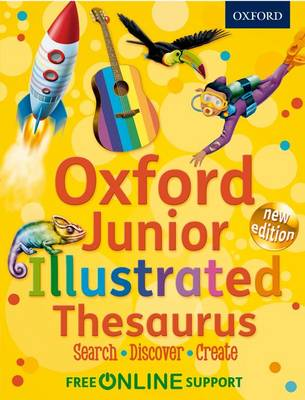 Oxford Junior Illustrated Thesaurus (Paperback)