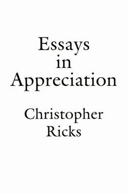 Essays in Appreciation (Paperback)