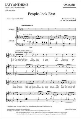 People, Look East: Vocal Score (Sheet music)