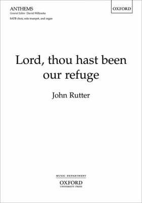 Lord, Thou Hast Been Our Refuge: Vocal Score (Sheet music)