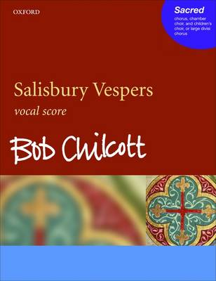 Salisbury Vespers: Vocal Score (Sheet music)