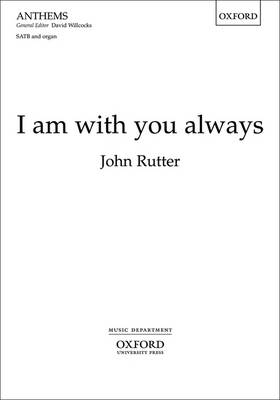 I am with You Always: Vocal Score (Sheet music)