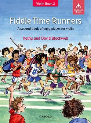 Fiddle Time Runners + CD: A Second Book of Easy Pieces for Violin - Fiddle Time (Sheet music)