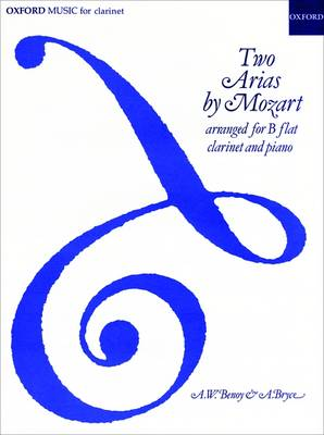 Two Arias: Arranged for Clarinet and Piano (Sheet music)