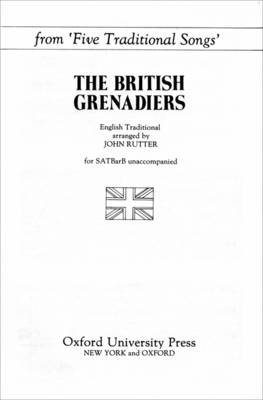 The British Grenadiers: From Five Traditional Songs (Sheet music)