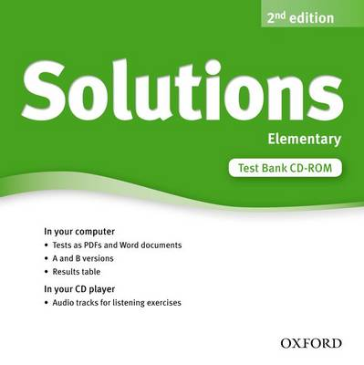 Solutions: Elementary: Test Bank CD-ROM (CD-ROM)