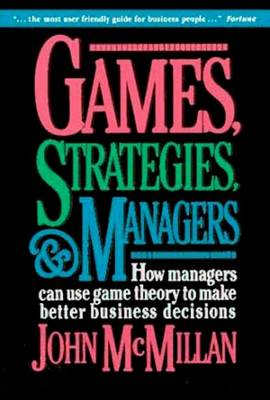 Games, Strategies and Managers (Paperback)