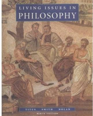 Living Issues in Philosophy (Hardback)
