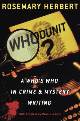 Whodunit?: A Who's Who in Crime and Mystery Writing (Paperback)