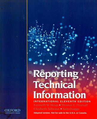 Reporting Technical Information (Paperback)
