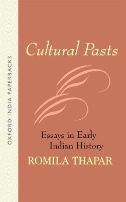 Cultural Pasts: Essays in Early Indian History (Paperback)