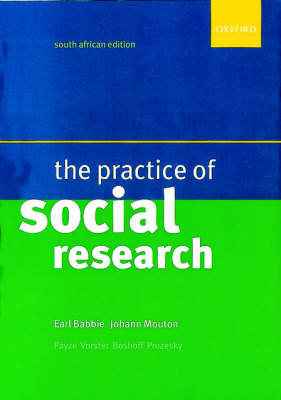 Practice of Social Research (Paperback)
