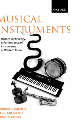 Musical Instruments: History, Technology and Performance of Instruments of Western Music (Hardback)