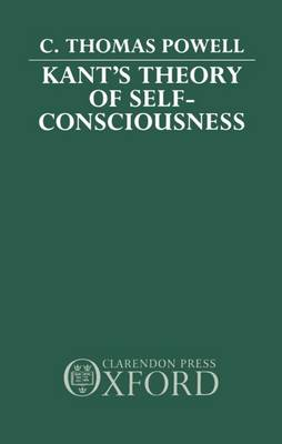 Kant's Theory of Self-consciousness (Hardback)